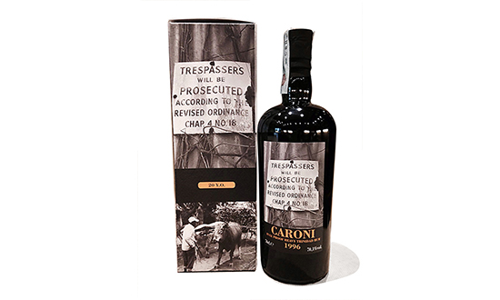 Rhum Caroni 1996 FULL PROOF